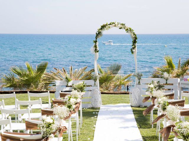 La boda de Charline  y Sebastian  en Benalmadena Costa, Málaga 26
