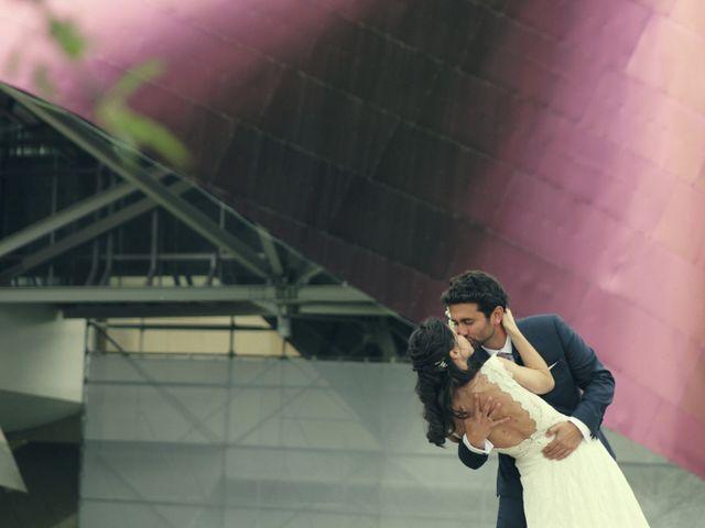 La boda de Inés y Alex