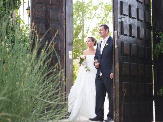 La boda de Luis y Raquel en Sotos De Sepulveda, Segovia 9