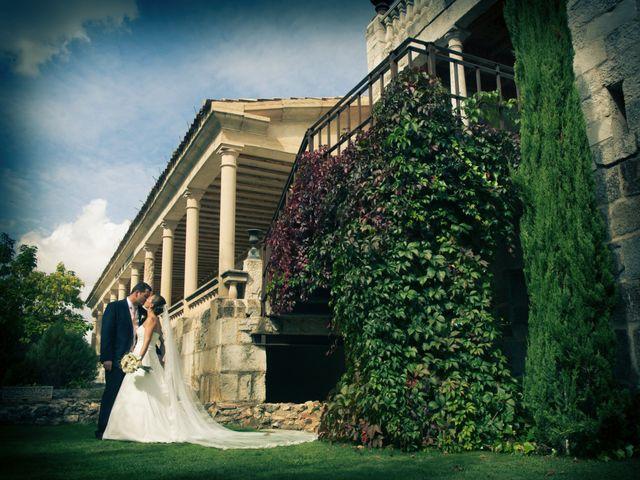 La boda de Luis y Raquel en Sotos De Sepulveda, Segovia 12