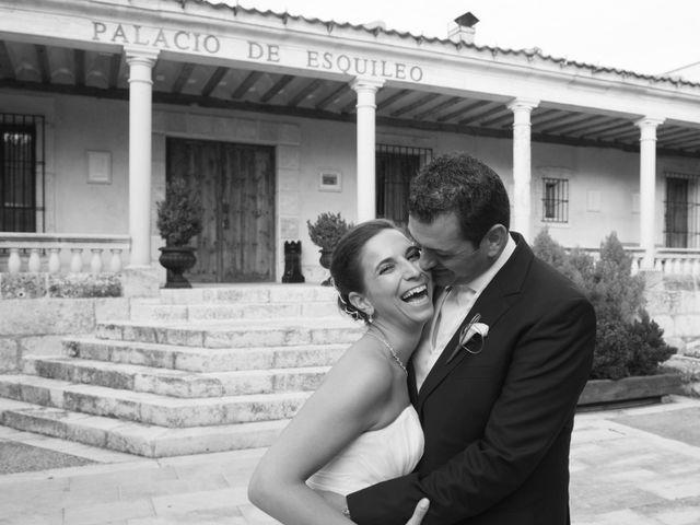 La boda de Luis y Raquel en Sotos De Sepulveda, Segovia 14