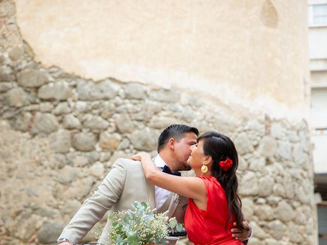 La boda de Javier y Diana en Arenys De Mar, Barcelona 9