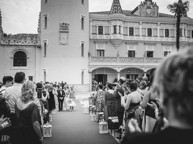 La boda de David y Raquel en Soto De Viñuelas, Madrid 46