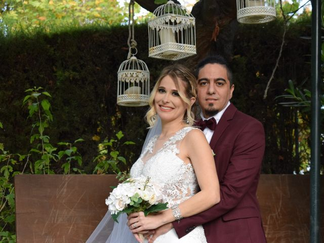 La boda de Denist y Arais en Aranjuez, Madrid 1