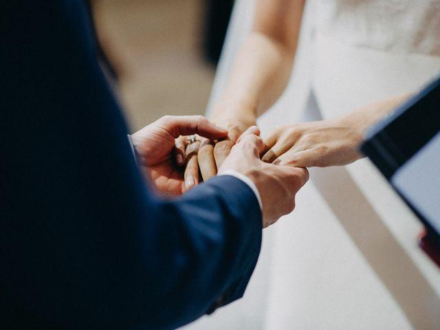 La boda de Tere y Antoine en San Vicente De El Grove, Pontevedra 35