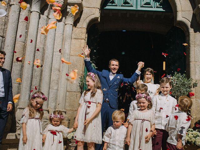 La boda de Tere y Antoine en San Vicente De El Grove, Pontevedra 45