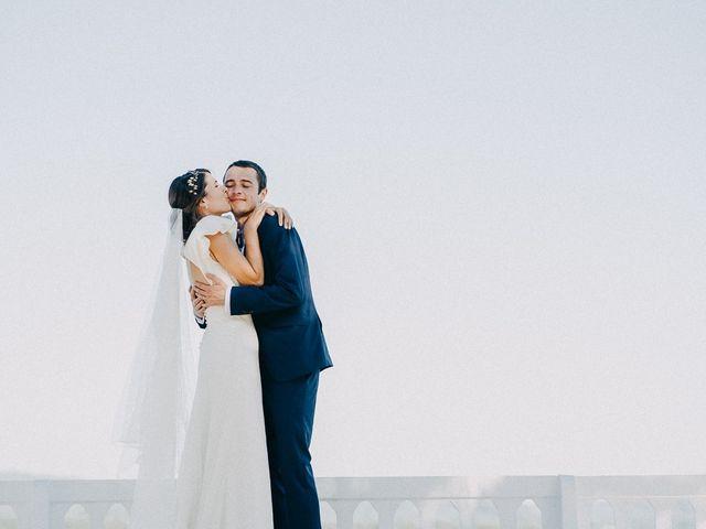 La boda de Antoine y Tere