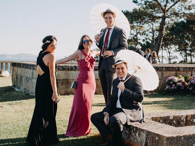 La boda de Tere y Antoine en San Vicente De El Grove, Pontevedra 65