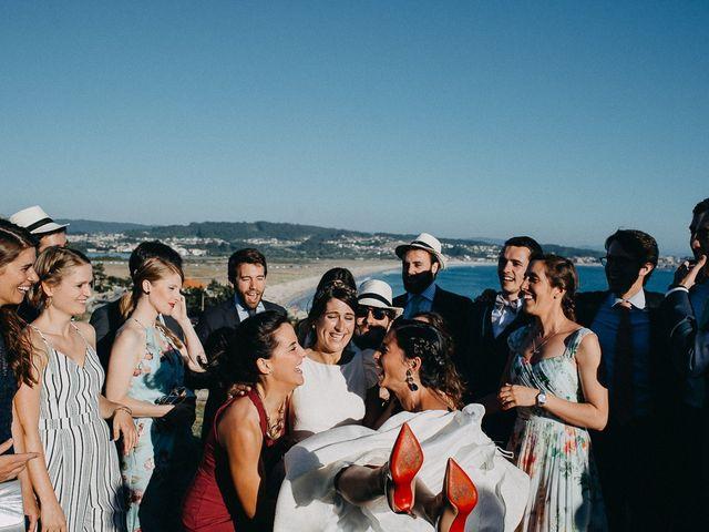 La boda de Tere y Antoine en San Vicente De El Grove, Pontevedra 76
