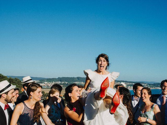 La boda de Tere y Antoine en San Vicente De El Grove, Pontevedra 77