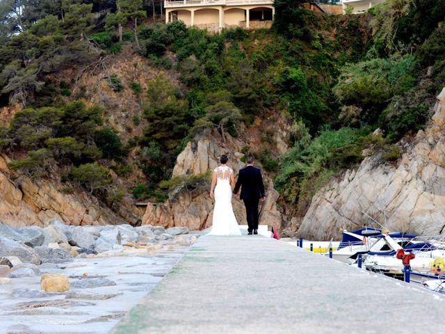 La boda de Lidia y Ivan en Lloret De Mar, Girona 10