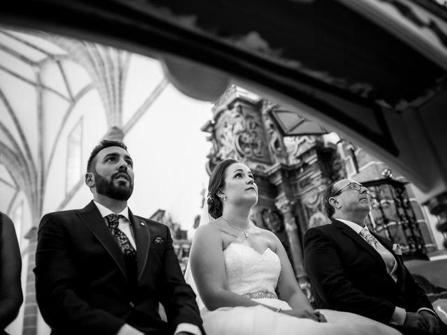 La boda de Juan José y Nazaret en Torre De Miguel Sesmero, Badajoz 46