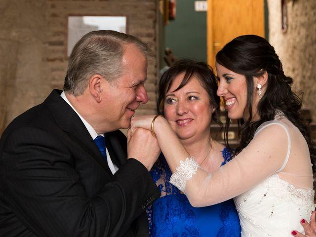 La boda de Adrián y Margarita en Uceda, Guadalajara 25