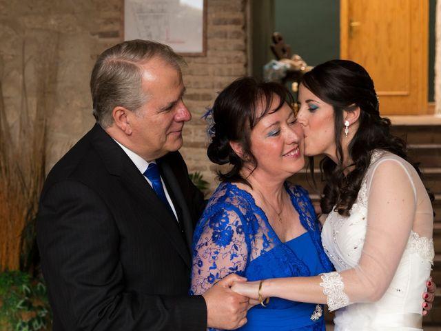 La boda de Adrián y Margarita en Uceda, Guadalajara 27