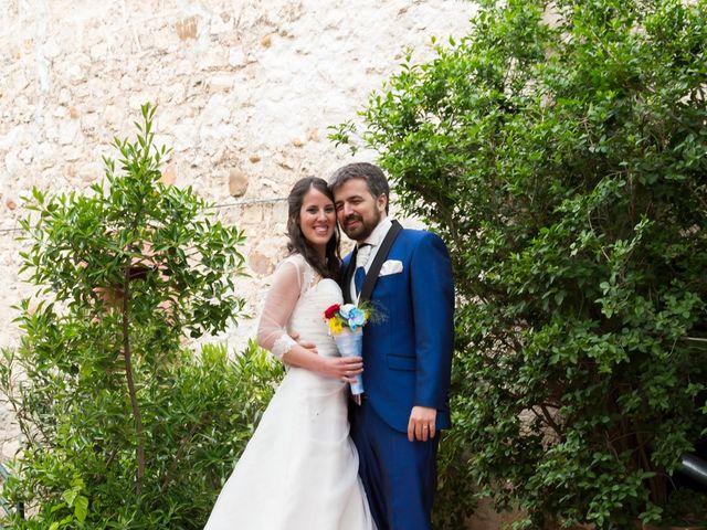 La boda de Adrián y Margarita en Uceda, Guadalajara 42