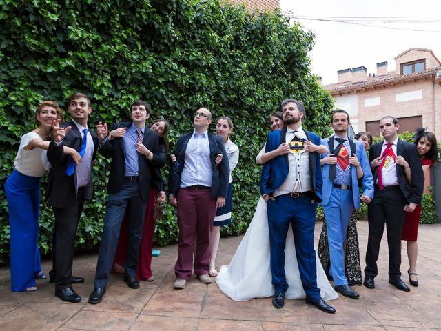 La boda de Adrián y Margarita en Uceda, Guadalajara 60
