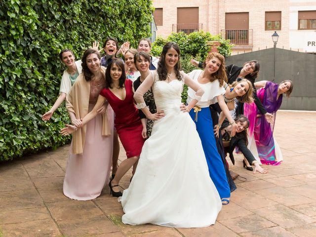 La boda de Adrián y Margarita en Uceda, Guadalajara 61
