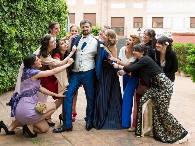 La boda de Adrián y Margarita en Uceda, Guadalajara 62