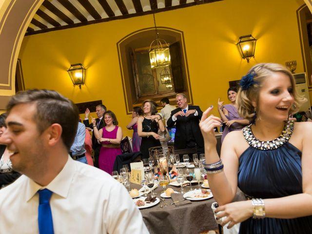 La boda de Adrián y Margarita en Uceda, Guadalajara 70
