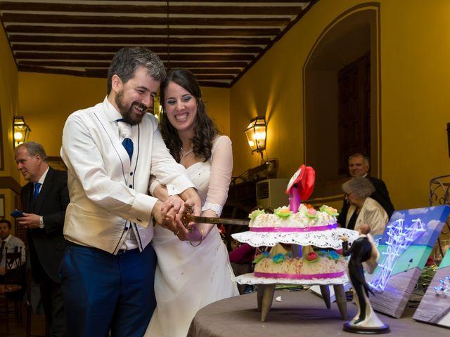 La boda de Adrián y Margarita en Uceda, Guadalajara 71