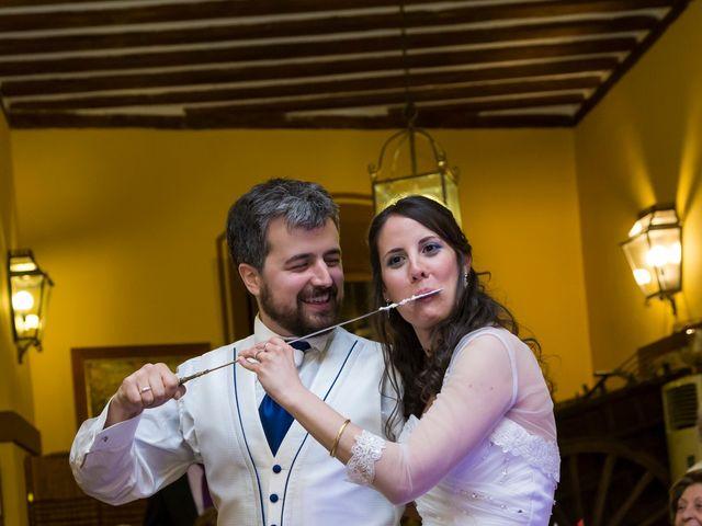 La boda de Adrián y Margarita en Uceda, Guadalajara 72