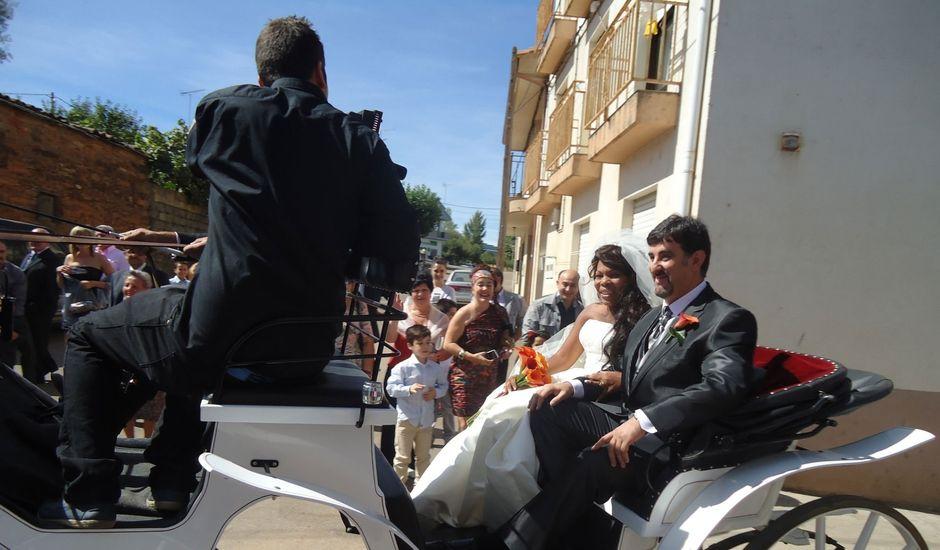 La boda de Luciane Aparecida y Juan Antonio en Trabazos, Zamora