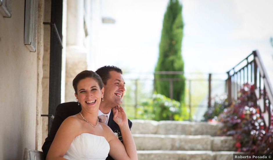 La boda de Luis y Raquel en Sotos De Sepulveda, Segovia