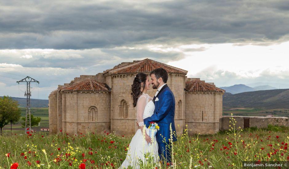 La boda de Adrián y Margarita en Uceda, Guadalajara