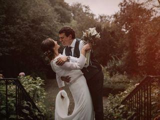 La boda de Arantzazu y Ekain