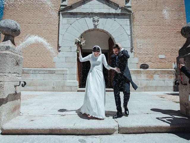 La boda de Miguel y Marta en Bercial, Segovia 17