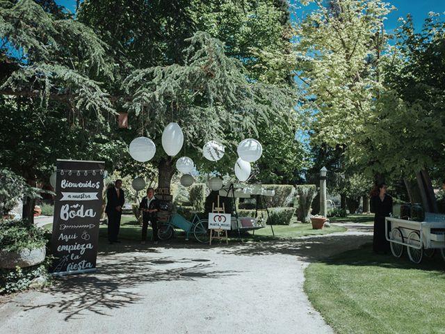 La boda de Miguel y Marta en Bercial, Segovia 20
