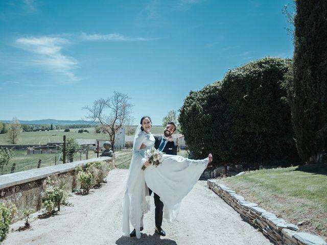 La boda de Miguel y Marta en Bercial, Segovia 22