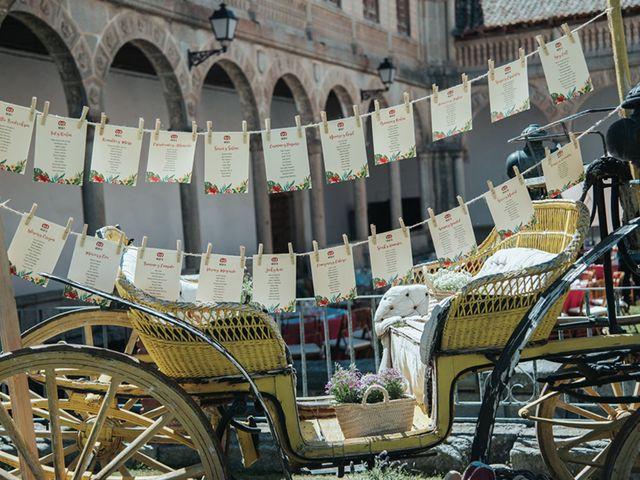 La boda de Miguel y Marta en Bercial, Segovia 34
