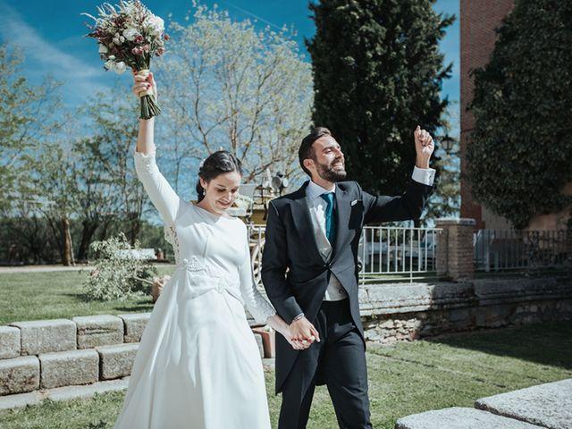 La boda de Miguel y Marta en Bercial, Segovia 39