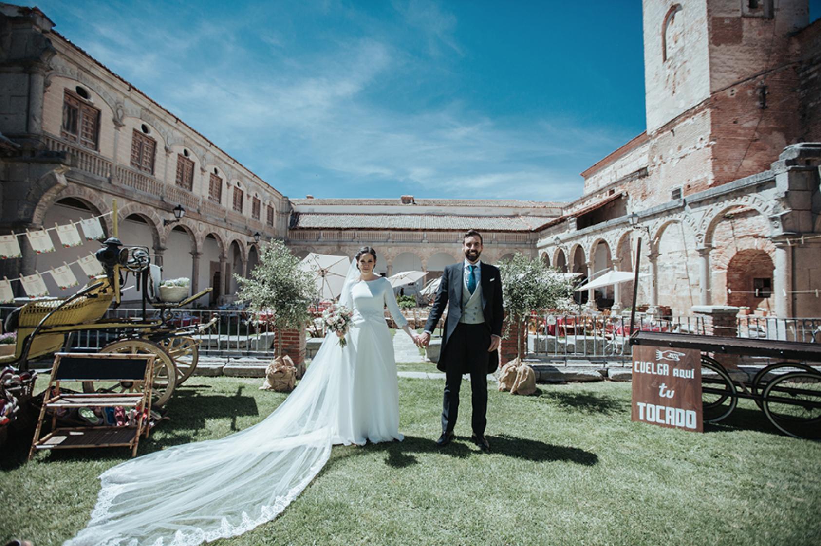 La boda de Miguel y Marta en Bercial, Segovia