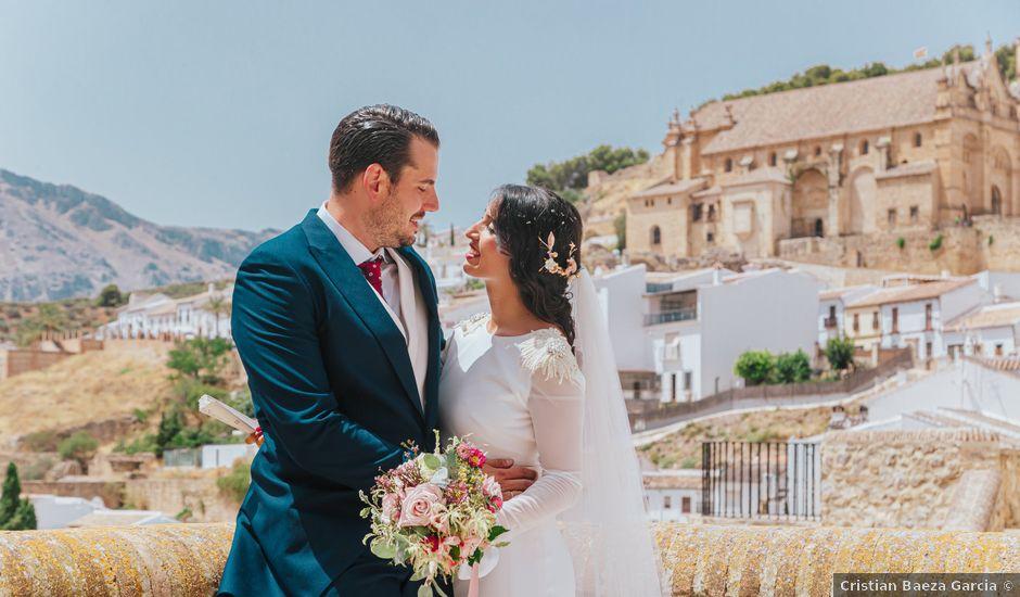 La boda de Angel y Lorena en Antequera, Málaga