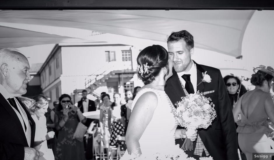 La boda de Alejandro y Sandra en Mozarbez, Salamanca