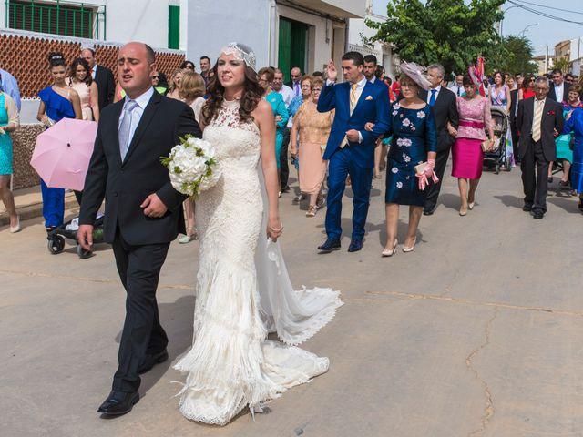 La boda de David y Carmen en San Clemente, Cuenca 12