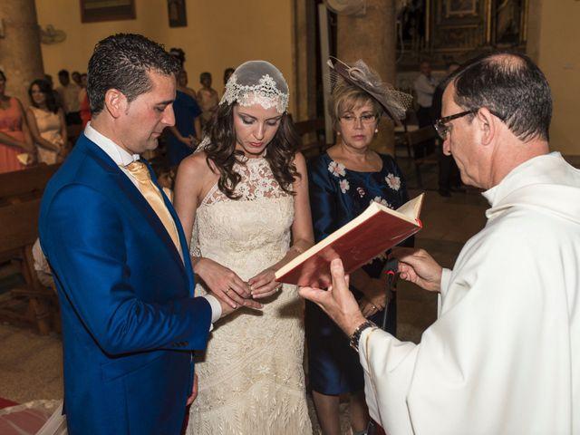 La boda de David y Carmen en San Clemente, Cuenca 16