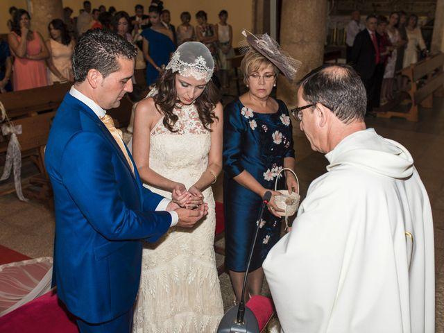 La boda de David y Carmen en San Clemente, Cuenca 17
