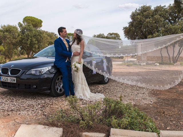 La boda de David y Carmen en San Clemente, Cuenca 20