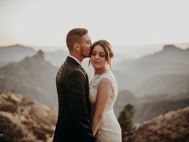 La boda de Erik y Salomé en Cruz De Tejeda, Las Palmas 23
