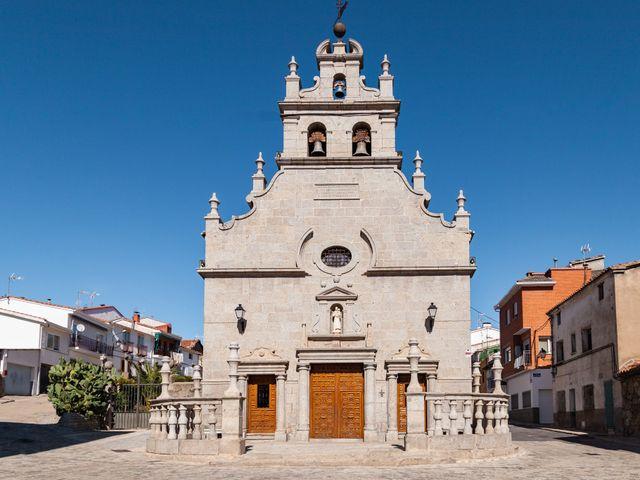 La boda de Nacho  y Marta en El Tiemblo, Ávila 1