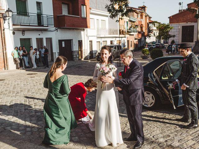 La boda de Nacho  y Marta en El Tiemblo, Ávila 11