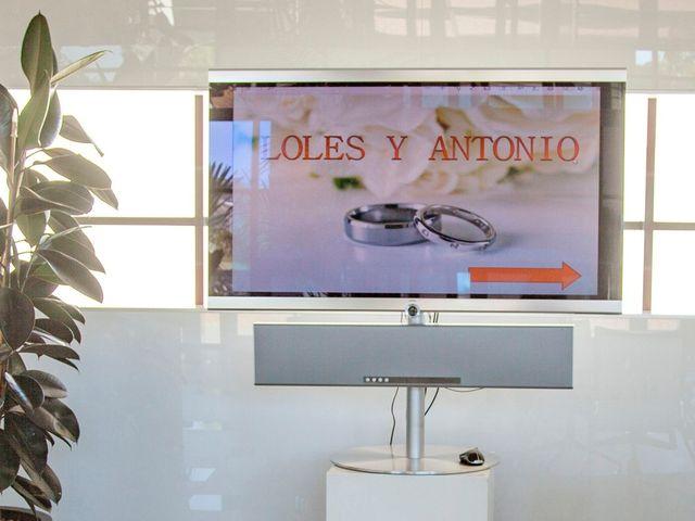 La boda de Antonio y Loles en Algorfa, Alicante 6