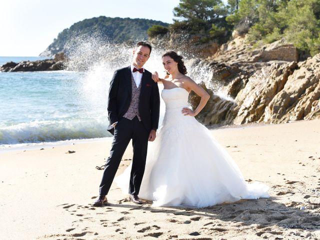 La boda de Aroa y Marc en Santa Coloma De Farners, Girona 35