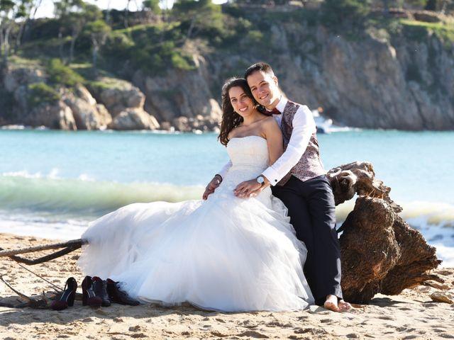 La boda de Aroa y Marc en Santa Coloma De Farners, Girona 38