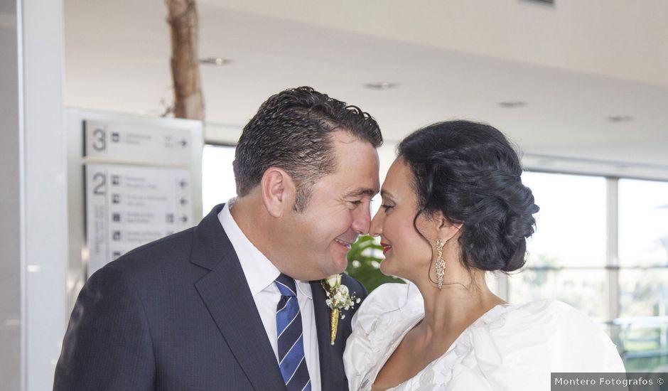 La boda de Antonio y Loles en Algorfa, Alicante