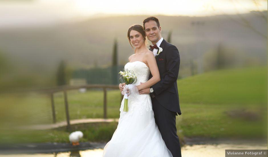 La boda de Aroa y Marc en Santa Coloma De Farners, Girona