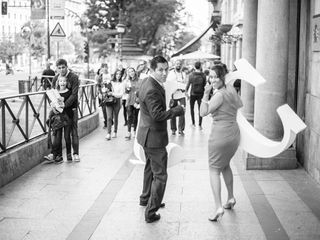 La boda de Carolin y John